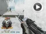 4399生死狙击梦幻AK玩转冰雪堡垒