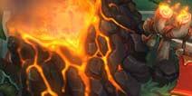 炉石传说安戈洛棋盘隐藏彩蛋:火山爆发