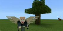 【梦轩】我的世界住进树木里