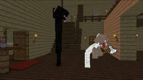 【怪物学园】我的世界真正恐怖的游戏1