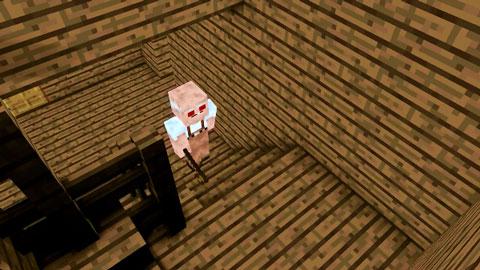 【怪物学园】我的世界之爷爷恐怖游戏挑战