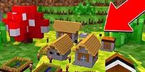 我的世界教你居住进史上最小的迷你村庄