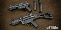 绝地求生刺激战场新枪MP5K展示