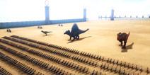 1000双脊龙VS方舟恐龙 【方舟VS系列】视频