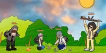 和平精英至暗之夜趣味漫画1:提防小偷视频