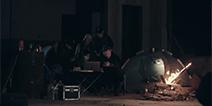 项目组深入西北无人区 无人区采风的高能影片视频