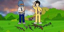 至暗之夜趣味漫画3:武器选择视频