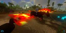 方舟地牢隐藏BOSS―烈焰独角兽驯服视频
